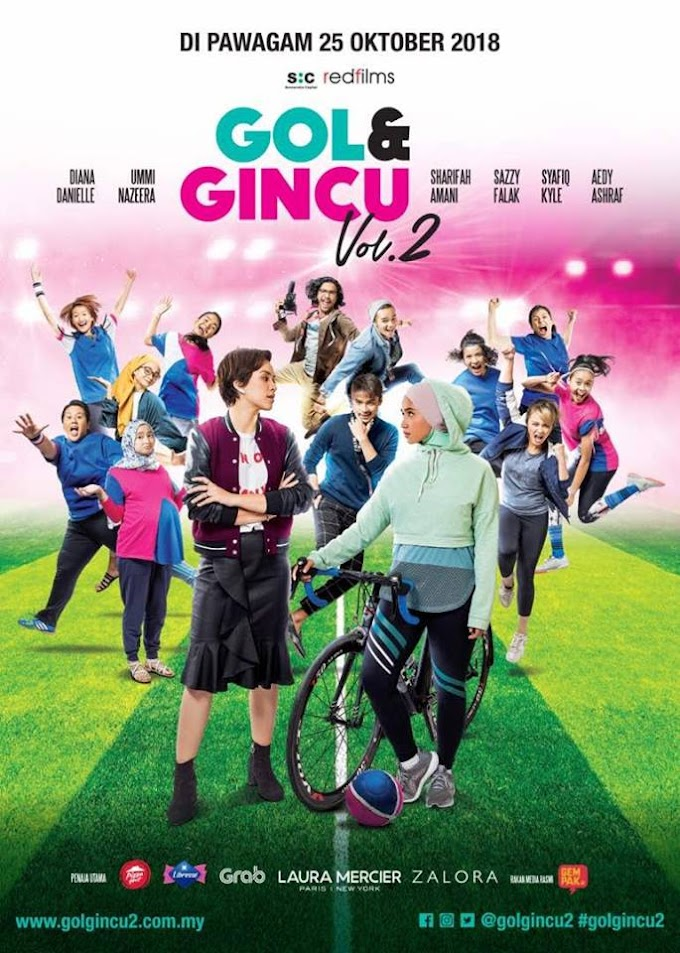 Review Filem Gol & Gincu Vol. 2