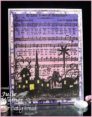 Stamps - Our Daily Bread Designs O Little Town of Bethlehem, ODBD Decorative Corners Die