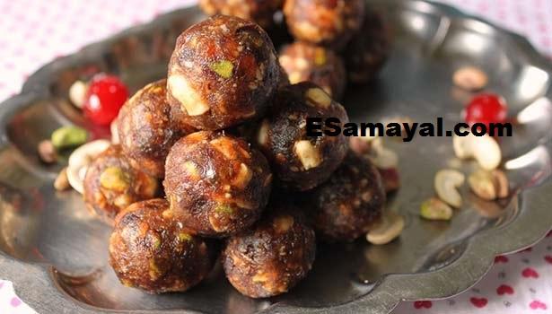 பாதாம்  திராட்சை உருண்டை செய்வது ரெசிபி | Almonds Grapes Urundai Recipe!