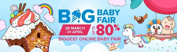 Lazada Big Baby Fair telah Kembali lagi!!