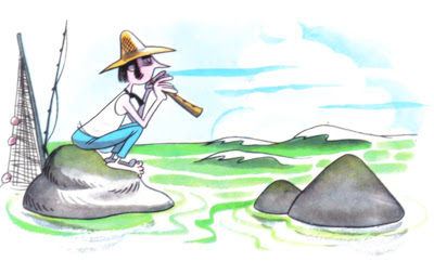 fabula el pescador flautista
