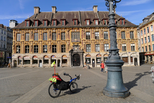 Tour de la Belgique en vélo, Lille