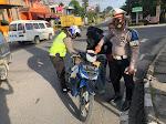 Tingkatkan Kesadaran Berlalu Lintas, Sat Lantas Polres Dairi Laksanakan OPS Keselamatan Toba 2021.