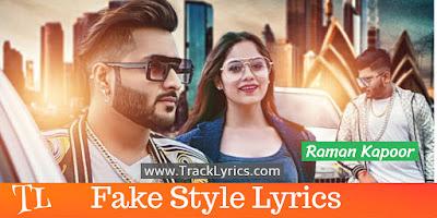 fake-style-song-lyrics