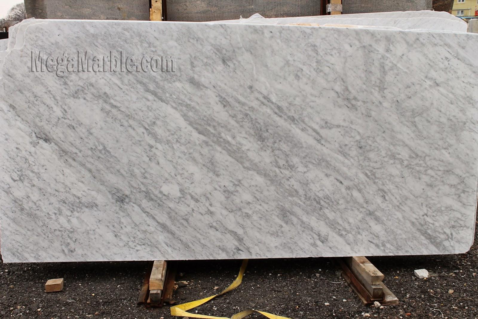 White Carrara Marble Slabs