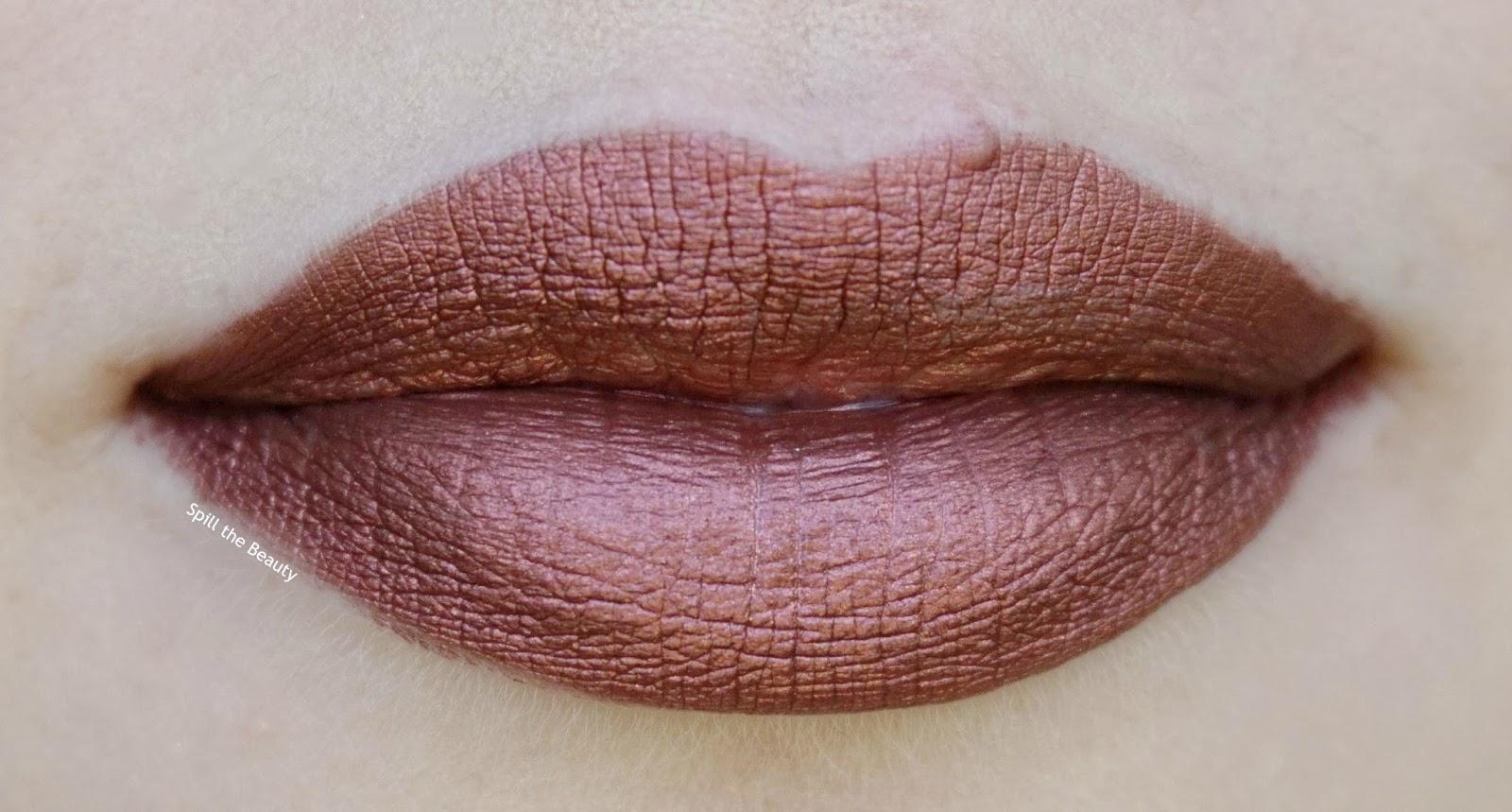 milani amore mattalic lip creme 02 matterialistic lip