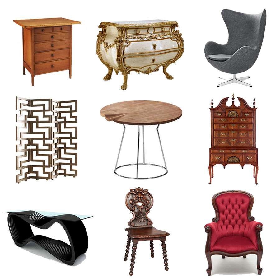 Beau Furniture Design Styles