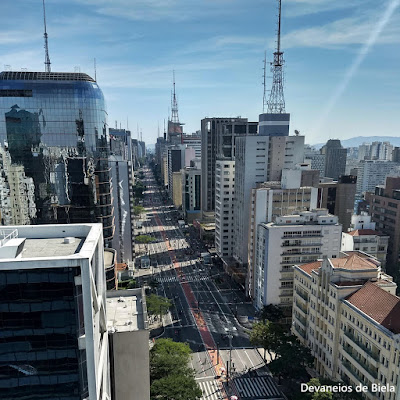Mirante SESC Avenida Paulista domingo