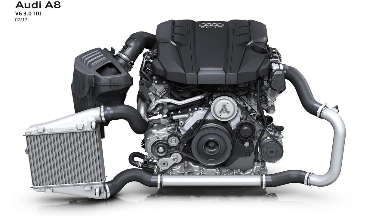 Động cơ 3.0 và 4.0 của Audi A8 model 2018