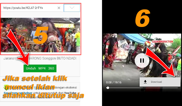 Cara Download Video dari Youtube dan Simpan di Galeri Handphone