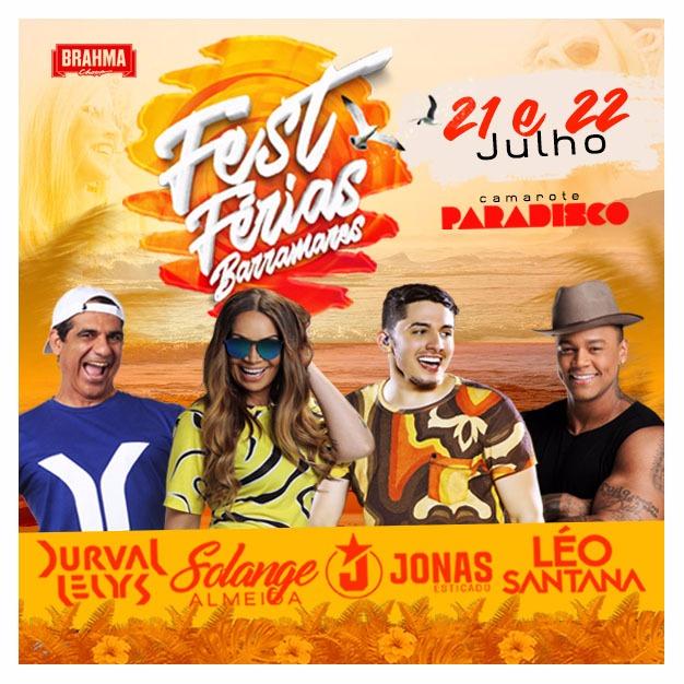 Dias 21 e 22 de julho de 2017 acontece o Fest Férias Barramares f26300d2b612c