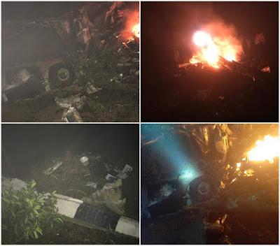 Tragedia  : Três médicos e piloto morrem em queda de avião de pequeno porte no nordeste brasileiro