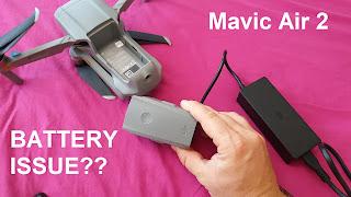 DJI battery problem