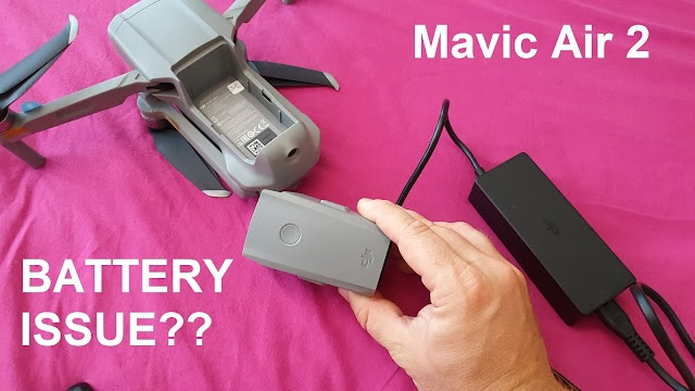 DJI Mavic Air 2 battery issue explained