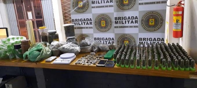 Homem é preso com mais de 5 quilos de maconha no bairro Santa Cruz em Gravataí