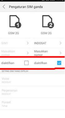 Cara Membuat SIM 2 3G Pada Android Lenovo A6000 Plus