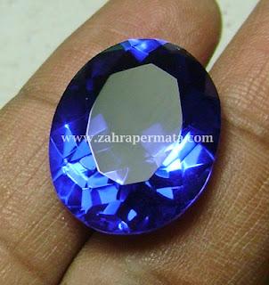 Batu Permata Blue Obsidian