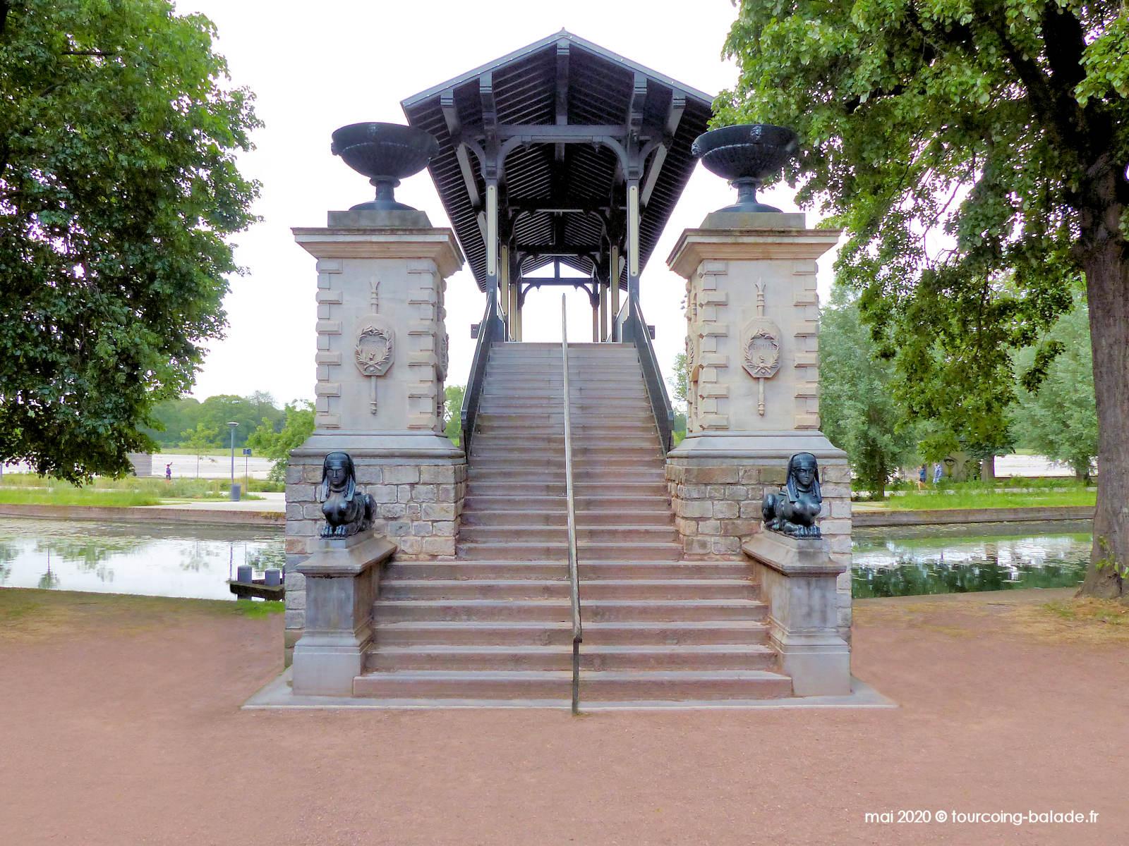 Escaliers du Pont Napoléon, Lille 2020