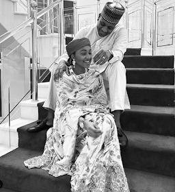 Lovely new photo of Zahra Buhari and her husband