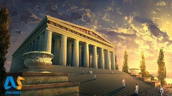 یکی از هفت عجایب جهان باستان به نام معبد آرتمیس