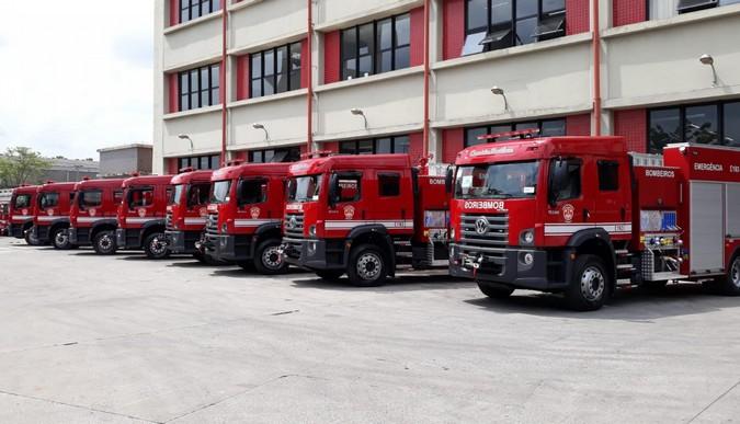 Corpo de Bombeiros de São Paulo reforça frota com 40 novos VW Constellation 17.280