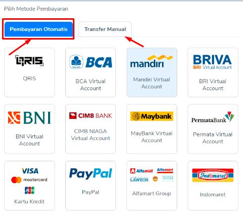 Cara Beli Domain dan Pilih Metode Pembayaran