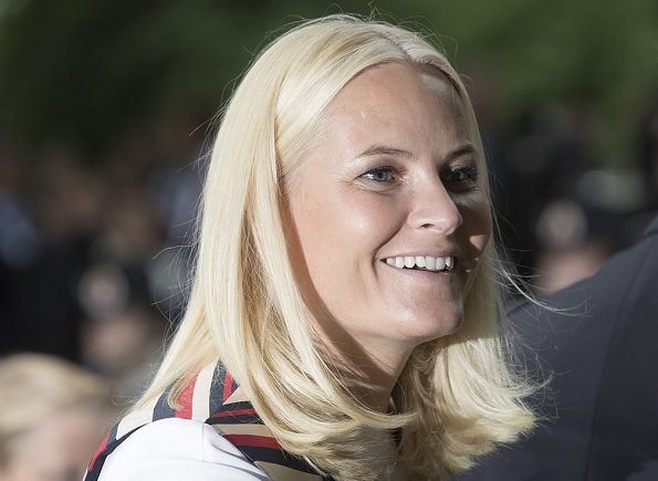 Crown Princess Mette-Marit of Norway (born Mette-Marit Tjessem Høiby on 19 August 1973 in Kristiansand) celebrates her 44th birthday