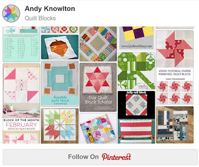 Quilt Blocks Pinterest board