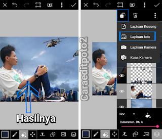 edit foto manipulasi keren di picsart