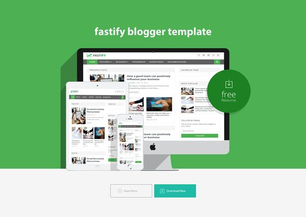 fastify blogger template