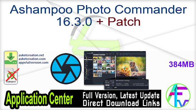 Ashampoo Photo Commander 16.3.0 + Patch