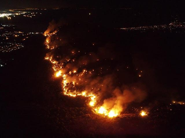 Πέντε πυρόπληκτα χωριά της Κορινθίας σε καθεστώς έκτακτης ανάγκης