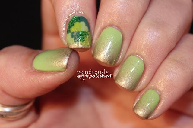 Wondrously Polished: March Nail Art Challenge - Day 4 & 5 ...