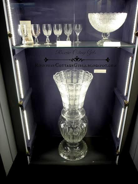 Antique glass wear