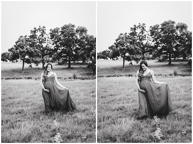 Juli & Sammy's Maternity Session at Research Park in College Station, TX with Rachel Driskell Photography