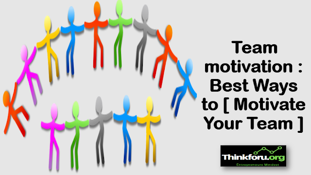 Cover Image of Team motivation : Best Ways to [ Motivate Your Team ] with How do I motivate my [ team for fitness ]? &  How to keep your team motivated ?