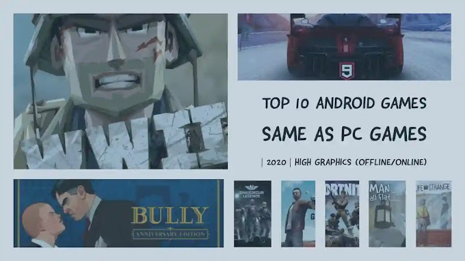 Amazing Top 10 Games for Android Phone