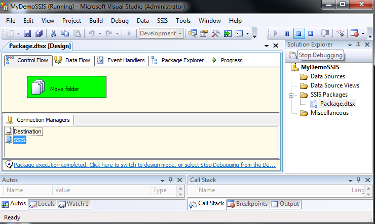 Exact Help: File System Task Copy a directory in SSIS by