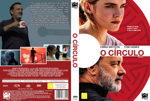 Capa DVD O Círculo [Exclusiva]