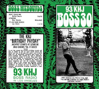 KHJ Boss 30 No. 200 - Charlie Tuna