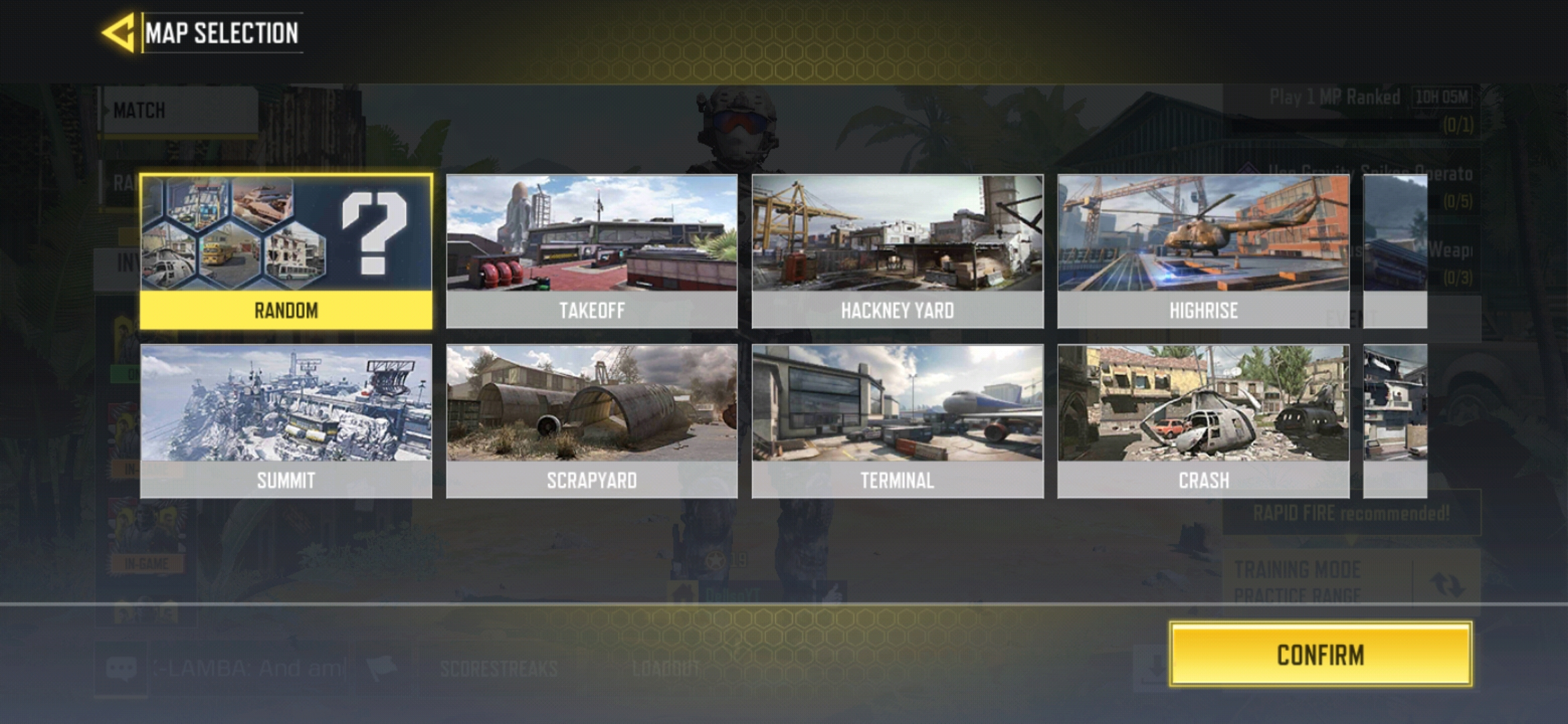 Multiplayer mode maps