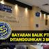 Bayaran Balik PTPTN Ditangguhkan 3 Bulan
