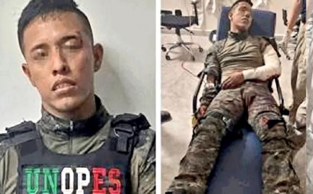 Ya fue recapturado nuevamente,  Soldado desertor que huyo tras ser detenido y que prefirió a unirse al Cártel del Golfo y ayudar a rescatar al capo Metro -27