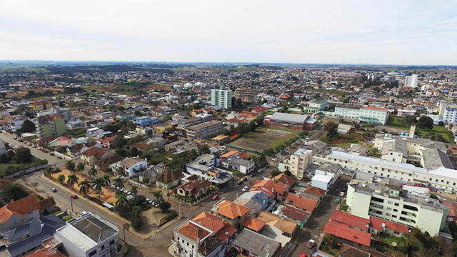 Vacaria, Imagem aérea Drone