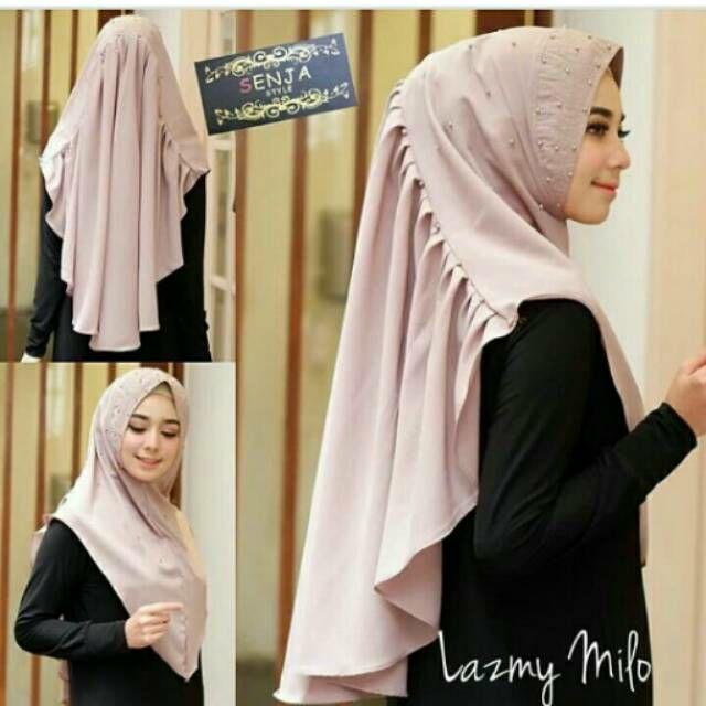 Jilbab Syari Modern Motif Cantik