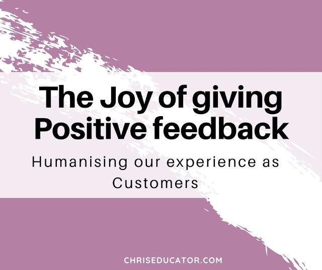 Joy of Positive Feedback