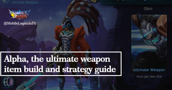 Alpha, The Ultimate Weapon (Guide) Item Build Strategies