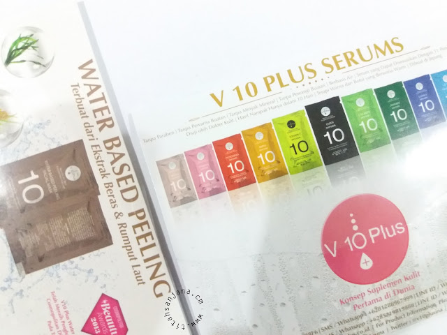 SP REVIEW V10 PLUS WATER BASED PEELING & SERUM