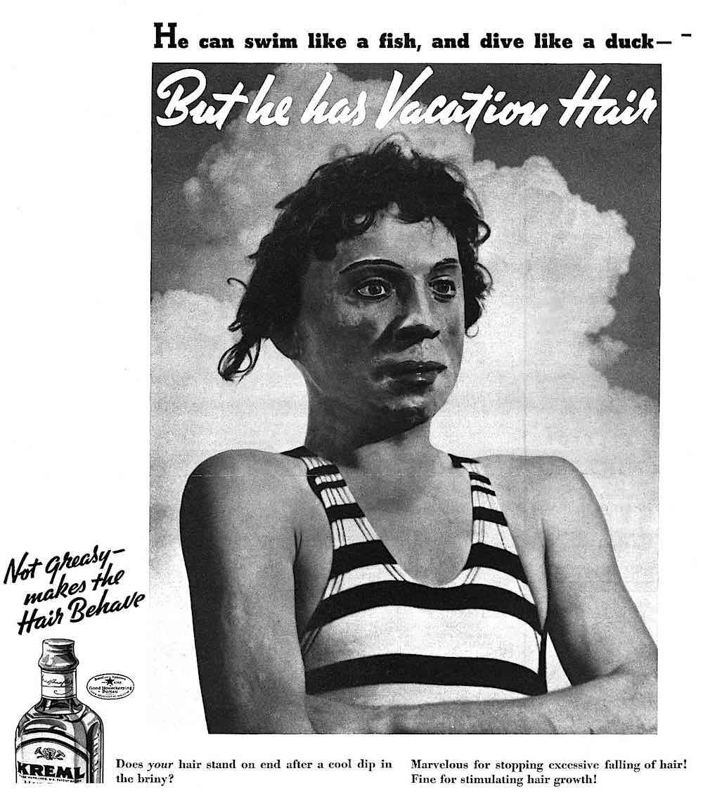kreml vacation hair advert photo