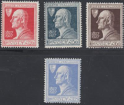 1927 Alessandro Volta Italy